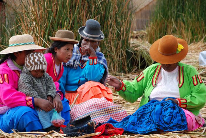 Индейцы племени урос