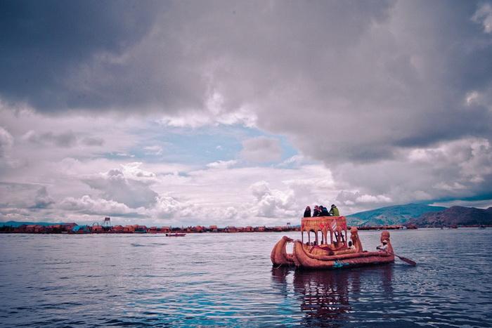 Плавучие острова - известнейшая туристическая достопримечательность Перу