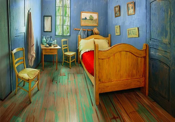 Спальня Ван Гога: реконструкция известной картины