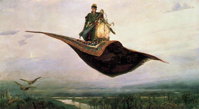 Ковер-самолет, Виктор Васнецов