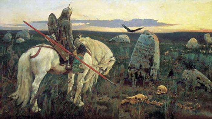 Витязь на распутье, Виктор Васнецов