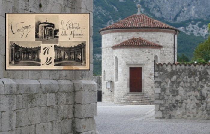 Церковь в итальянском городе Венцоне, где обнаружили загадочных мумий.