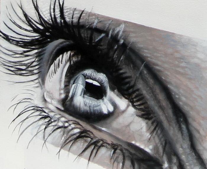 Глаза на рисунках Veri Apriyatno