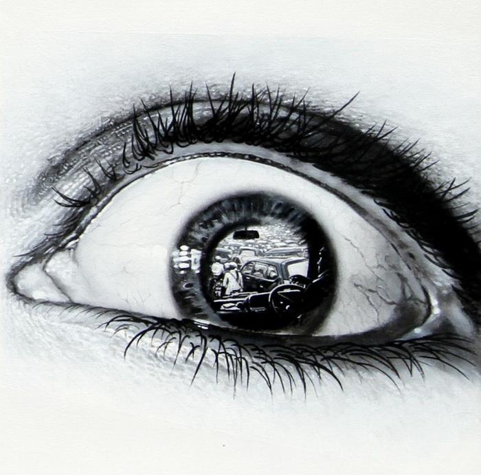 Серия рисунков The Witnesses от художника Veri Apriyatno