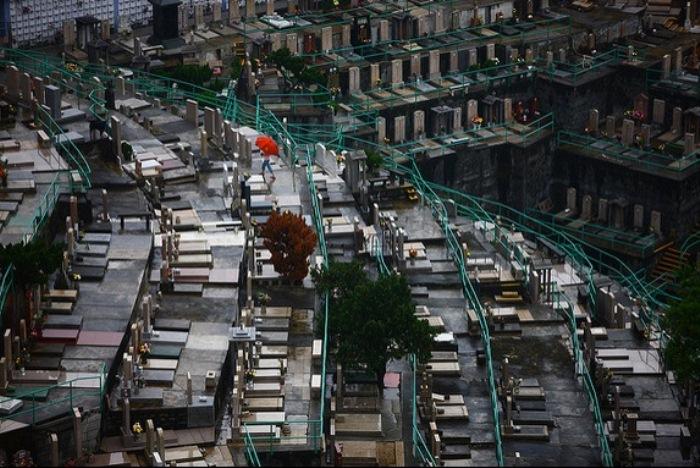 Вертикальные кладбища становятся очень востребованными в мире.