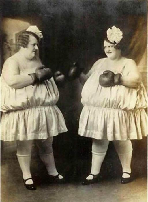 Сестры Карлсон. Фотография ок. 1925 г.