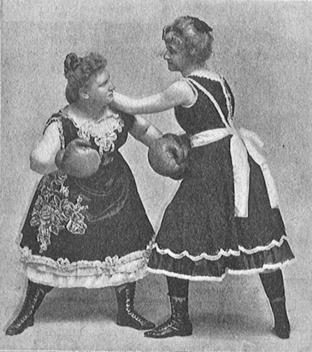 Сестры Гордон гастролировали по США со спарринг-выступлениями.