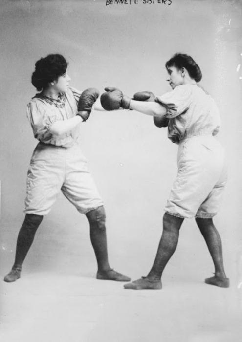 Боксерский турнир сестер Беннетт.