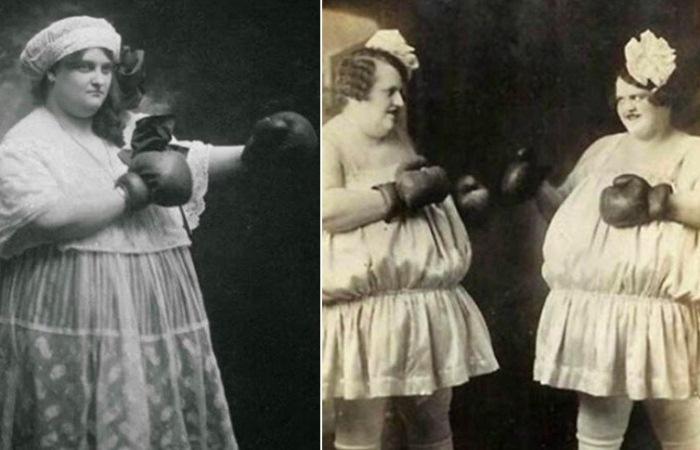Женщины-боксеры в истории.