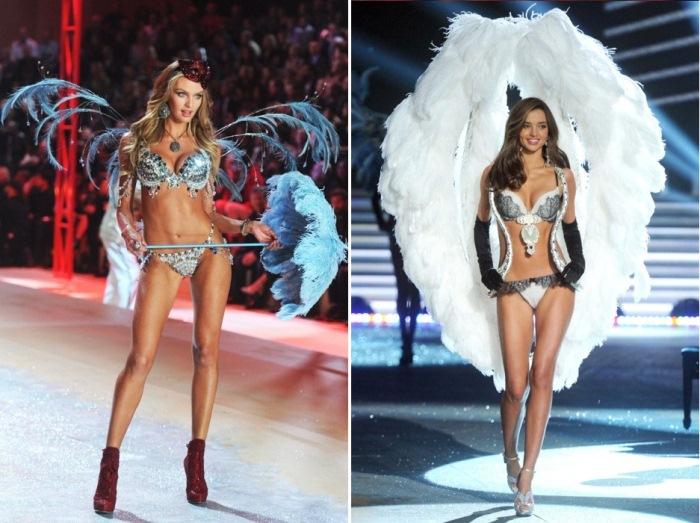 Ангелы Victoria`s Secret: супермодели, удостоенные чести демонстрировать бриллиантовые бюстгальтеры