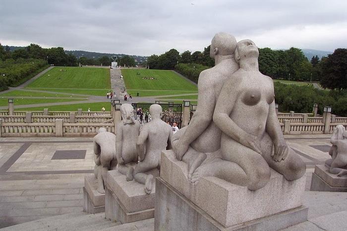 Парк скульптур Виигеланда (Осло, Норвегия)