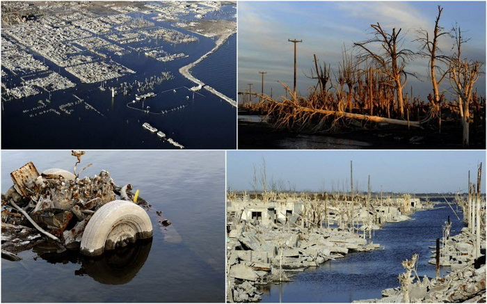 Вилла Эпекуэн - аргентинский курорт, ушедший под воду 25 лет назад