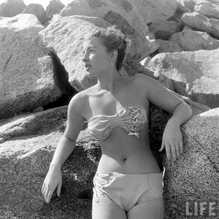 Винтажное фото из архива журнала Life