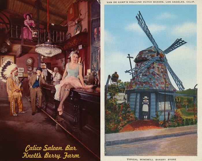Винтажные открытки из Америки