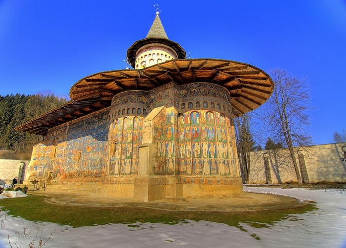 Монастырь Воронец - Сикстинская капелла Востока.