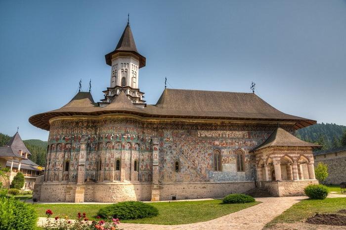 Монастырь Сучевица.