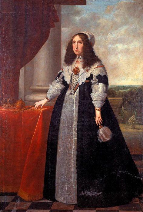 Портрет Цецилии Ренаты.