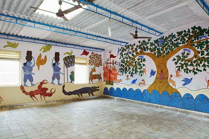 Фестиваль проходит в деревне Суджата (штат Бихар)