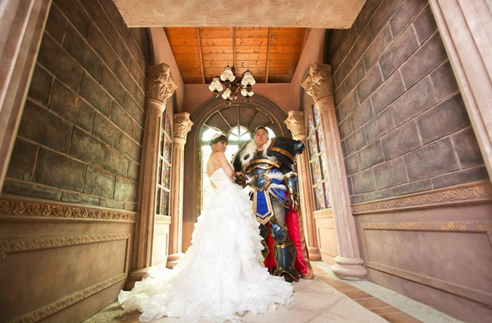 Свадебные косплей-костюмы