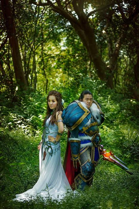 Тематическая свадьба любителей World of Warcraft
