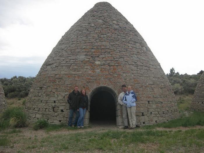 Печи - главная достопримечательность Государственного исторического парка Уорд (штат Невада, США)