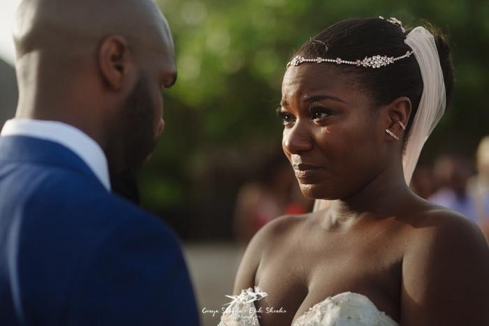 Счастье в глазах невесты.