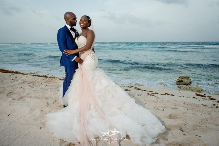 Свадьба на пляже. Оми и Дуг.