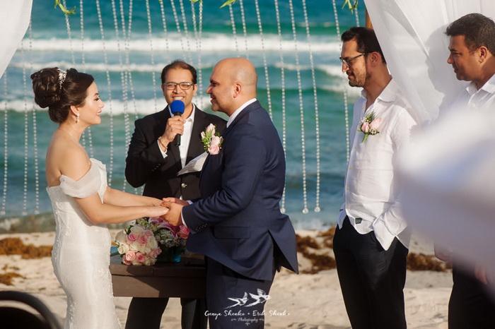 Церемония бракосочетания.