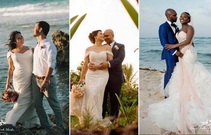 Свадебные фотографии на Карибских островах. Фотографы: Женя и Эрик Шенко.