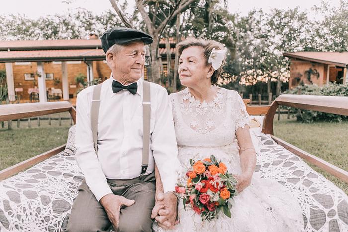 Настоящая любовь с годами становится только крепче.