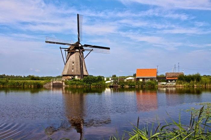 Ветряные мельницы - символ Нидерландов