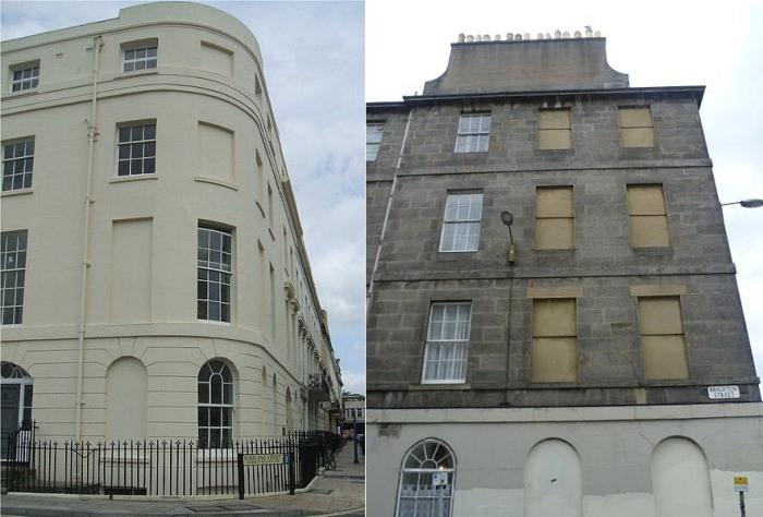Исторические здания.