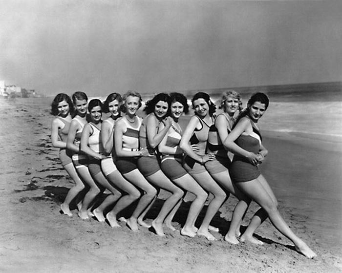 девушки в спортивных купальниках советские фото