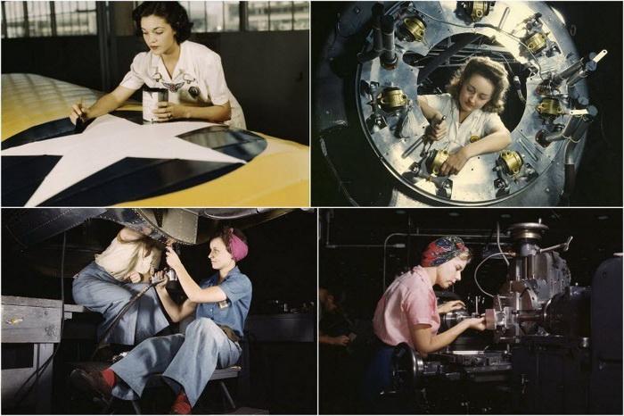Американская пропаганда: женщины на войне