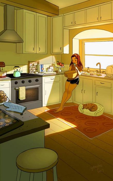 Что может быть вкуснее домашних блюд?