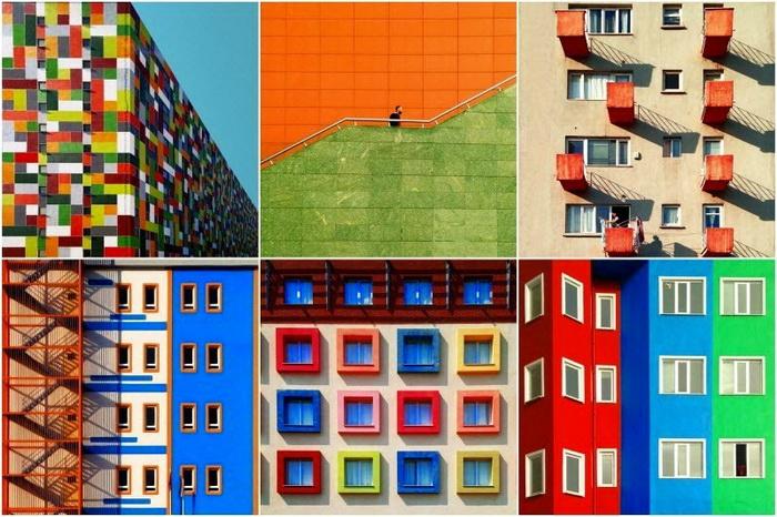 Яркая и красочная архитектура Стамбула
