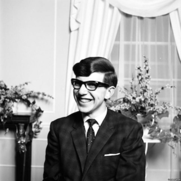 Стивен Хокинг в Оксфорде, 1963 год.