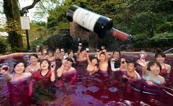 Yunessun Spa Resort - ���������� ���-����� � ������