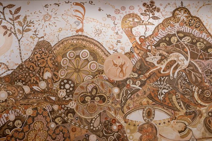 Грязевые рисунки от Юсуке Асаи (Yusuke Asai)