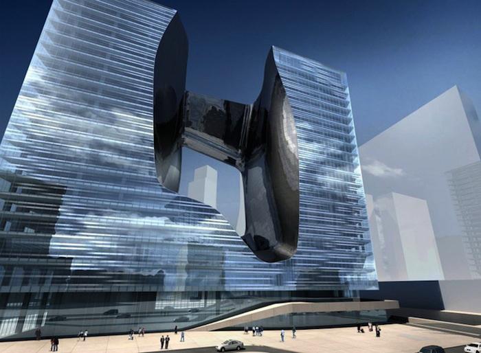 Торгово-офисный центр Opus Office Tower от архитектора Захи Хадид (Дубай)
