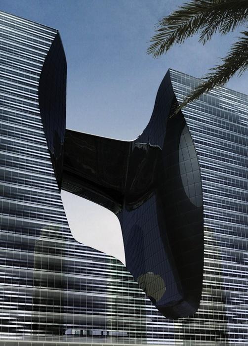 Торгово-офисный центр Opus Office Tower - новая достопримечательность Дубая