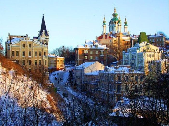 Панорамный вид на Андреевский спуск. Фото: myjulia.ru