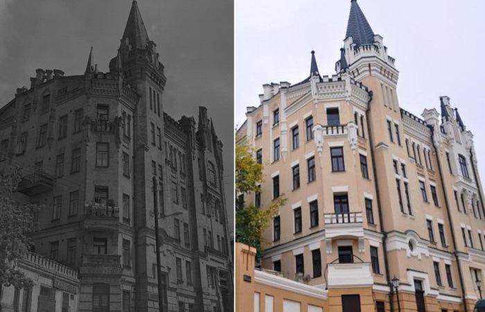 Замок Ричарда - Львиное сердце в центре Киева.