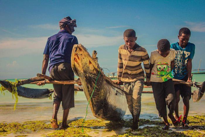 Рыбная ловля.