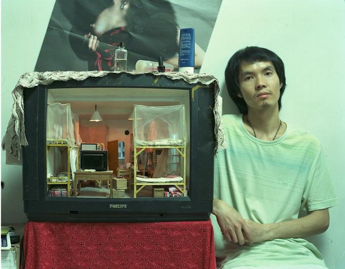 Zhang Xiangxi и его необычный телевизор