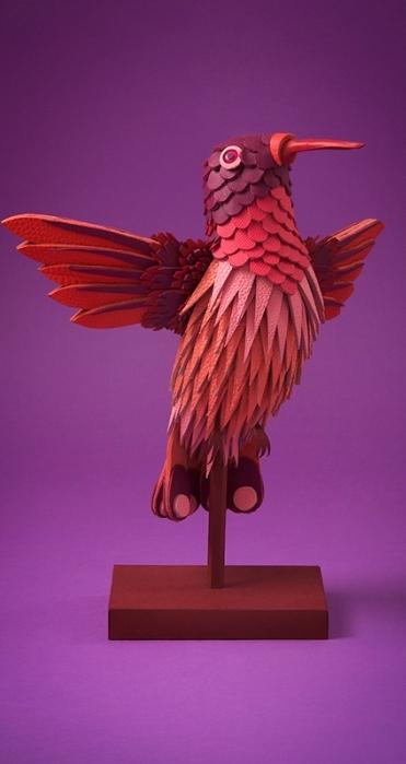 Птицы из кожи от арт-дуэта Zim & Zou