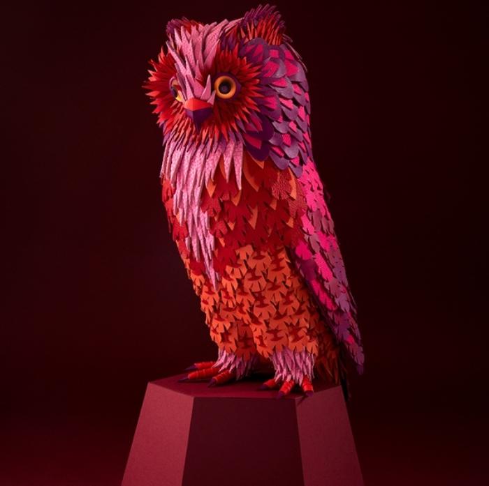 Птицы из кожи: скульптуры от арт-дуэта Zim & Zou