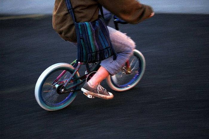 Зубомбинг (Zoobombing) - гонки на детских велосипедах