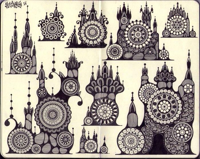 Castle, castle, castle and castle