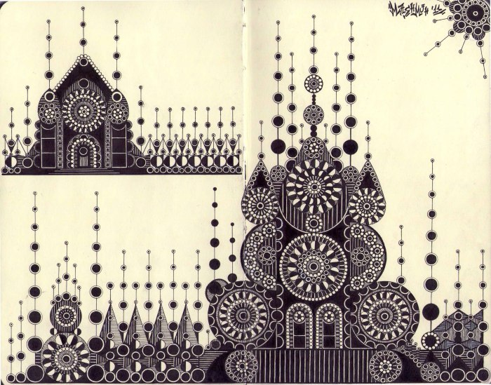 Castles from circles